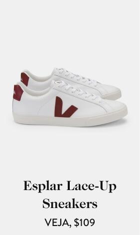 Esplar Lace-Up Sneakers VEJA, $109