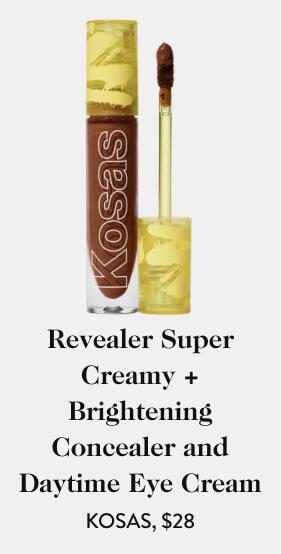 Revealer Super Creamy + Brightening Concealer and Daytime Eye Cream KOSAS, $28