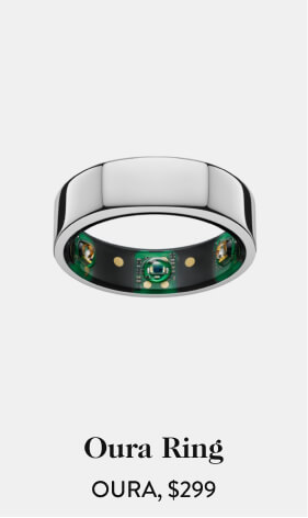 Oura Ring OURA, $299