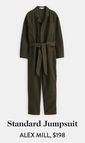 Standard Jumpsuit ALEX MILL, $198