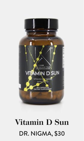 Vitamin D Sun DR. NIGMA, $30
