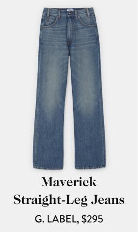 Maverick Straight-Leg Jeans G. LABEL, $295