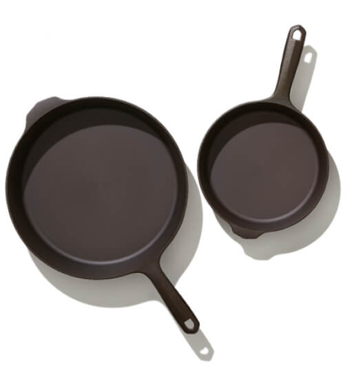 Field Company Two-Piece Cast-Iron Cookware Set