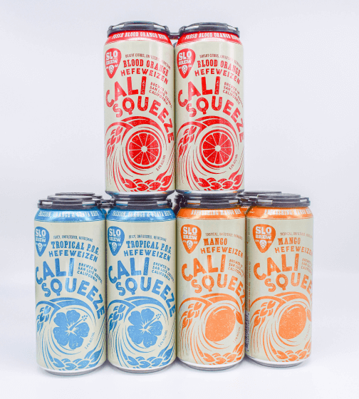 SLO Brewing Co. Cali Squeeze Variety Pack
