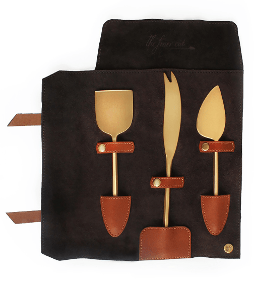 Nappa Dori Cheese Knives Set
