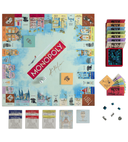 WS Game Company Monopoly California Dreaming