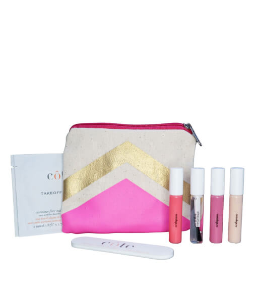 Cote Pretty in Pink Traveler Set