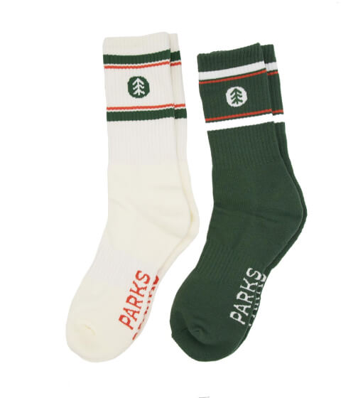 Parks Project Trail Socks, 2-Pack