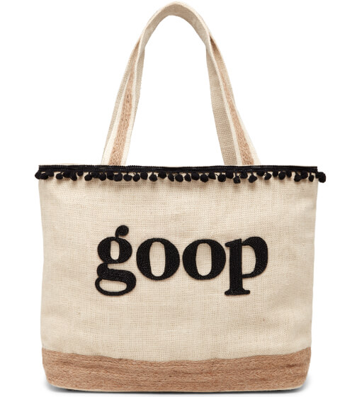 Island to East Side Personalized Beach Tote