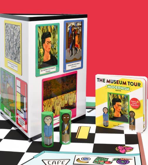 cityspots The Museum Tour Playset
