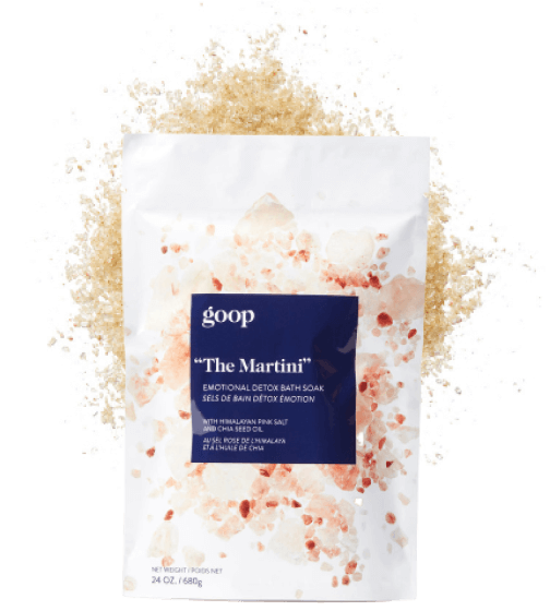 goop Beauty The Martini Emotional Detox Bath Soak