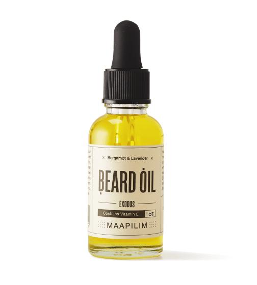 MAAPILIM Bergamot and Lavender Beard Oil