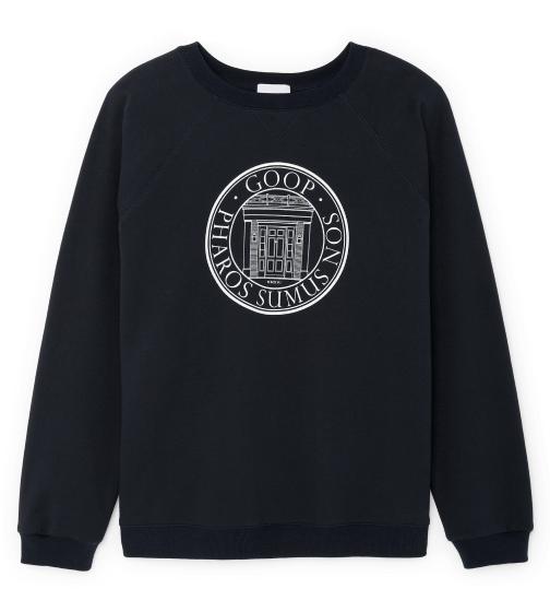 G. Label Mens goop University Sweatshirt