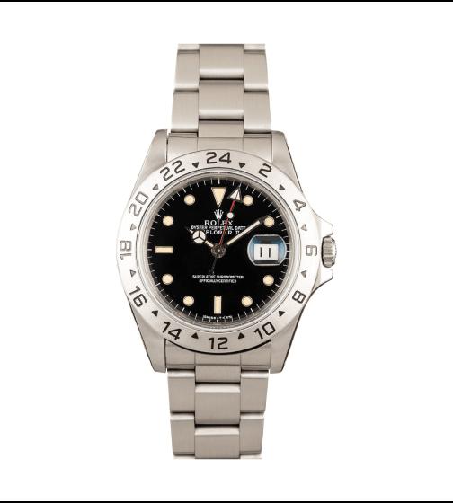Bobs Watches Rolex Mens Explorer II 40mm Model 16570