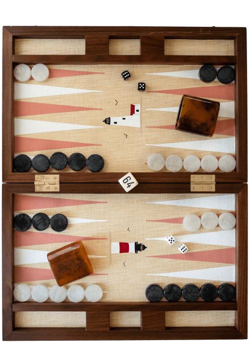 Nine Fair Custom Backgammon Board