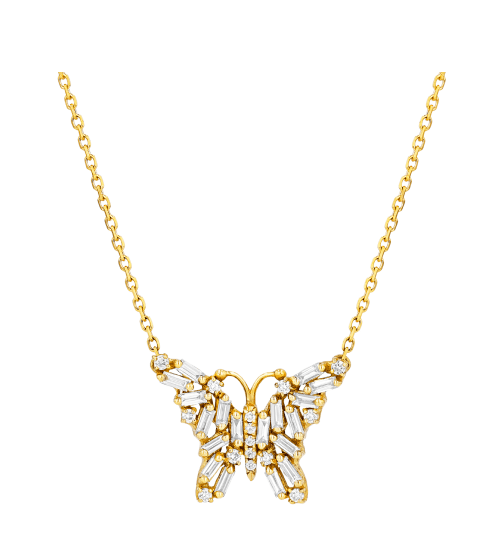 Suzanne Kalan Small Butterfly Necklace
