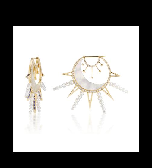 Sorellina La Luna Earrings