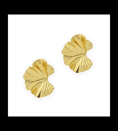 Jill Heller Vintage Jewelry JAR Geranium Leaf Earrings