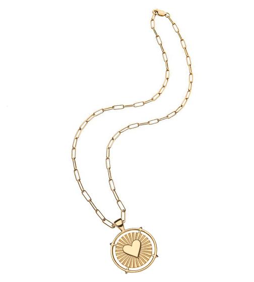 Jane Win El Corazon Pendant Necklace