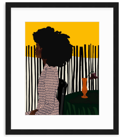 Uzo Njoku 800.656.HOPE 16 x 20 Framed Print