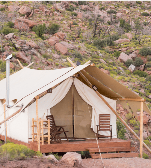 Under Canvas Glamping in Zion National Park
