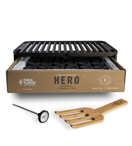 Hero Grill Portable Charcoal Grill System