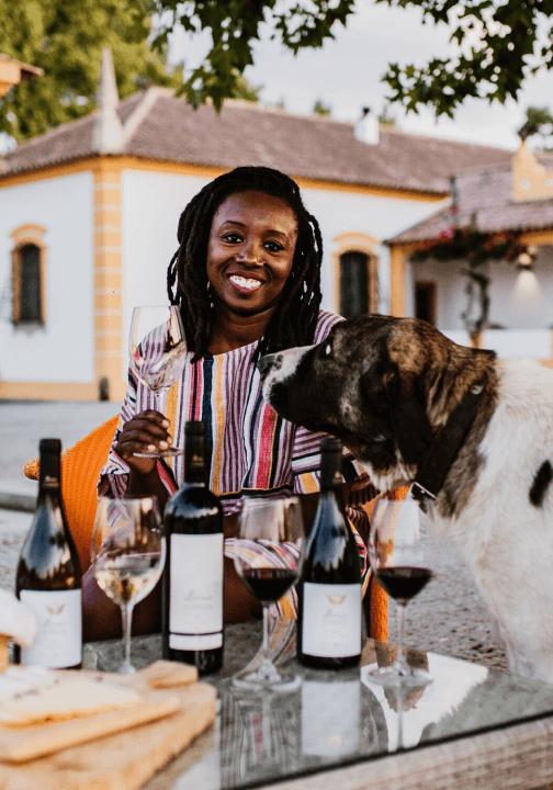 Cha McCoy Global Virtual Wine Tasting Group