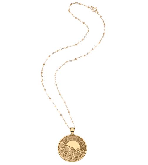Jane Win x goop Wanderlust Coin Pendant Necklace