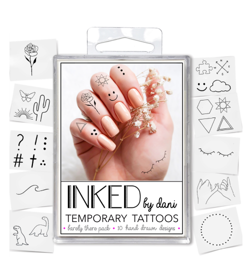 Inked by Dani Barely There Tattoo Pack