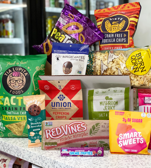 The Goods Mart Personal Curation Snack Box