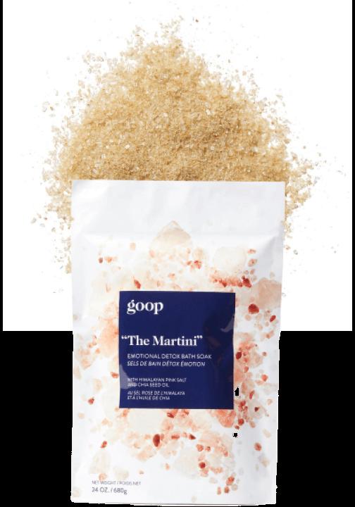 goop Beauty The Martini Emotional Detox Bath Soak