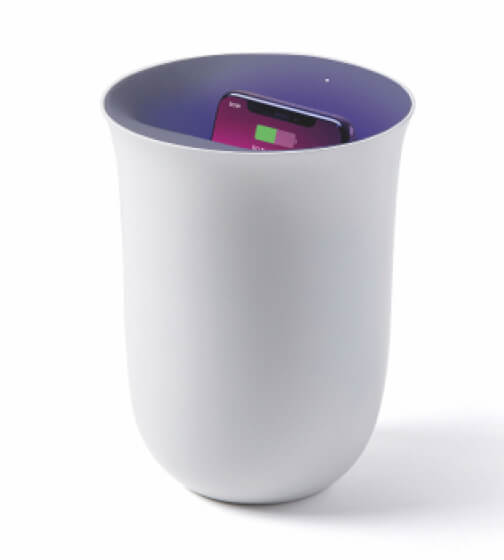Wireless UV Sanitizing Charging Station