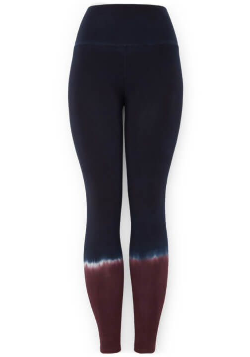 Electric & Rose Sunset Leggings in Dusk Ombré