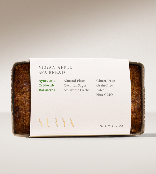 Surya Spa Vegan Apple Bread