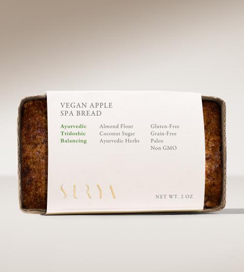 Surya Spa Vegan Apple Bread