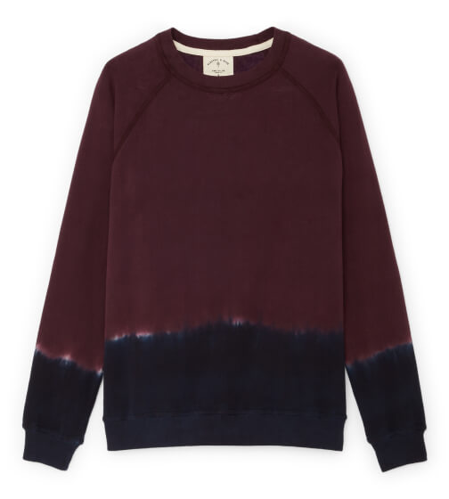 Electric & Rose York Sweatshirt in Dusk OmbrÉ