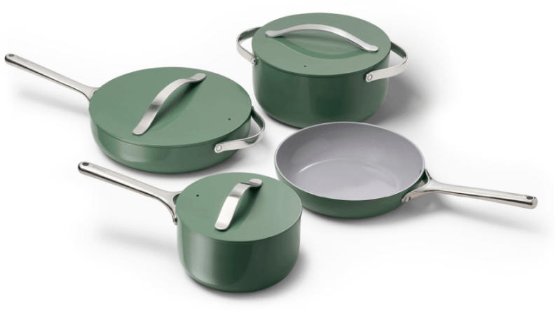 Caraway Ceramic Cookware Set